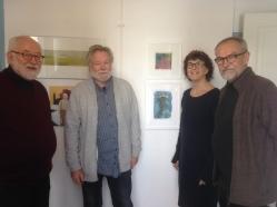 IMG_0183 Ulf Öhlund, Göran Andersson, Maria Godoy och Staffan Larsson