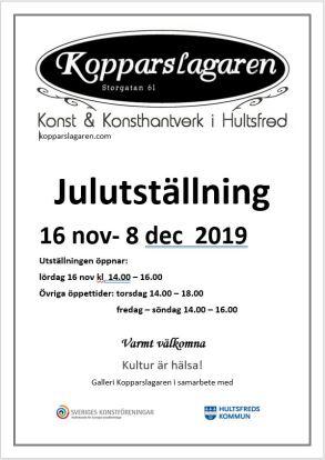 Julutställning affisch 2019