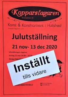 Julutställning affisch 2020