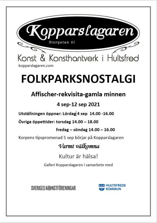 Folkparksnostalgi affisch